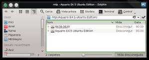 Explorant el contingut de l'Ubuntu Phone